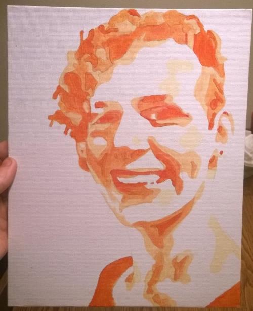 Pop-Art zelfportret