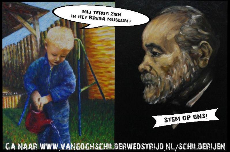 Stem nu! (van Gogh wedstrijd)